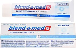 Духи, Парфюмерия, косметика Зубная паста - Blend-a-med Complete Protect Expert Healthy White Toothpaste