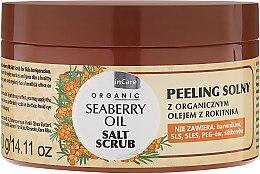 Духи, Парфюмерия, косметика Солевой скраб для тела - GlySkinCare Organic Seaberry Oil Salt Scrub