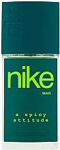 Духи, Парфюмерия, косметика Nike Spicy Attitude Man - Дезодорант