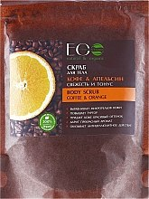 "Скраб для тела ""Кофе и апельсин"" - ECO Laboratorie Body Scrub Coffee & Orange — фото N3"