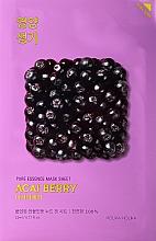 Духи, Парфюмерия, косметика Витаминизирующая тканевая маска для лица с ягодами асаи - Holika Holika Pure Essence Mask Sheet Acai Berry