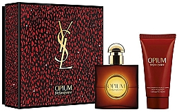 Духи, Парфюмерия, косметика Yves Saint Laurent Opium - Набор (edt/30ml + b/lot/50ml)