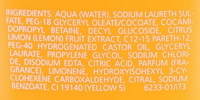 """Освежающий гель для душа """"Цитрус"""" - Juvena Body Care Vitalizing Citrus Shower Gel — фото N3"""