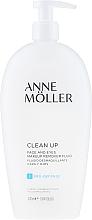 Духи, Парфюмерия, косметика Флюид для снятия макияжа - Anne Moller Pro-Defense Makeup Remover Fluid Face and Eyes