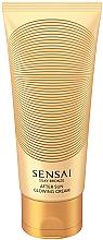 Духи, Парфюмерия, косметика Мерцающий крем для тела - Kanebo Sensai Silky Bronze After Sun Glowing Cream