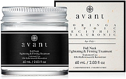 Духи, Парфюмерия, косметика Подтягивающий и укрепляющий кожу крем для шеи - Avant Skincare Full Neck Tightening and Firming Treatment