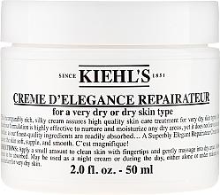 Духи, Парфюмерия, косметика Восстанавливающий крем для сухой или очень сухой кожи - Kiehl's Creme d'Elegance Repairateur