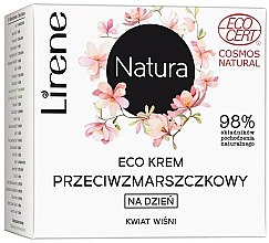 """Духи, Парфюмерия, косметика Дневной крем для лица """"Вишневый цвет"""" - Lirene Natura Eco Cream"""