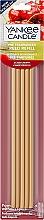 Духи, Парфюмерия, косметика Ароматические палочки - Yankee Candle Black Cherry Pre-Fragranced Reed Refill