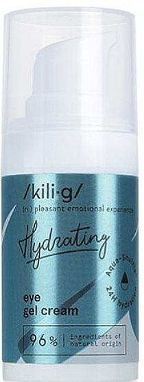 Интенсивный увлажняющий гелиевый крем для глаз - Kili-g Hydrating Eye Gel Cream — фото N2