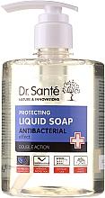 """Духи, Парфюмерия, косметика Антибактериальное мыло для рук """"Чайное дерево и лаванда"""" - Dr. Sante Antibacterial Liquid Soap Double Action"""