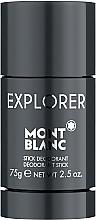 Духи, Парфюмерия, косметика Montblanc Explorer - Дезодорант-стик