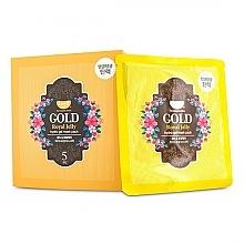 Духи, Парфюмерия, косметика Гидрогелевая маска для лица с золотом и маточкиным молочком - Petitfee & Koelf Gold & Royal Jelly Hydro Gel Mask