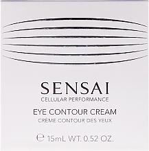 Духи, Парфюмерия, косметика Восстанавливающий крем с антивозрастным эффектом для контура глаз - Kanebo Sensai Cellular Performance Eye Contour Cream