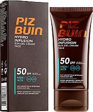 Духи, Парфюмерия, косметика Солнцезащитный крем-гель для лица - Piz Buin Hydro Infusion SPF 50