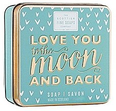 Духи, Парфюмерия, косметика Мыло - Scottish Fine Soaps Love You To The Moon And Back Soap In A Tin
