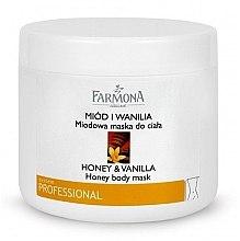 "Духи, Парфюмерия, косметика Маска для тела ""Мед и Ваниль"" - Farmona Honey & Vanilla Honey Body Mask"