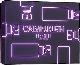 Духи, Парфюмерия, косметика Calvin Klein Eternity For Woman - Набор (edp/50ml + sh/gel/100ml + b/l/100ml)