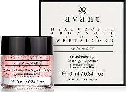 Духи, Парфюмерия, косметика Скраб для губ - Avant Velvet Perfecting Rose Sugar Lip Scrub