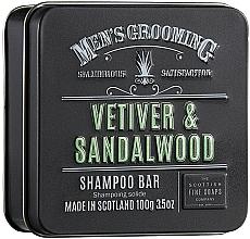 "Духи, Парфюмерия, косметика Шампунь для волос ""Ветивер и сандал"" - Scottish Fine Soaps Mens Grooming Vetiver & Sandalwood Shampoo Bar"