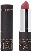 Духи, Парфюмерия, косметика Матовая помада для губ - Korres Morello Matte Lipstick