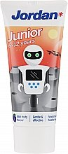 Духи, Парфюмерия, косметика Зубная паста для детей 6-12 лет, робот - Jordan Junior Toothpaste