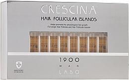Духи, Парфюмерия, косметика Лосьон для стимуляции роста волос для мужчин 1900 - Crescina Hair Follicular Islands Re-Growth 1900