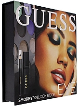 Духи, Парфюмерия, косметика Набор - Guess Beauty Smokey 101 Eye Lookbook (mascara/4ml + eyeliner/0.5g + 12xeye/sh/1.96g)