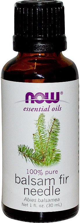 Эфирное масло пихты - Now Foods Essential Oils 100% Pure Balsam Fir Needle — фото N1