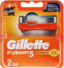 Духи, Парфюмерия, косметика Сменные кассеты для бритья - Gillette Fusion Power