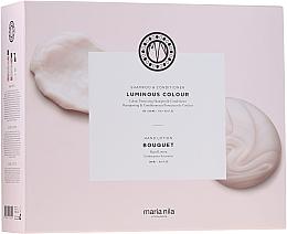 Духи, Парфюмерия, косметика Набор - Maria Nila Luminous Colour Gift Set (h/shm/350ml + h/cond/300ml + h/soap/300ml)