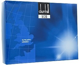 Духи, Парфюмерия, косметика Alfred Dunhill Dunhill 51.3 N - Набор (edt/100ml + a/sh/b/150ml)