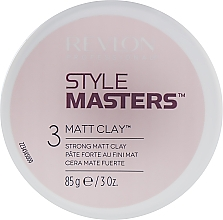 Духи, Парфюмерия, косметика Глина моделирующая для волос - Revlon Professional Style Masters Matt Clay
