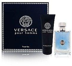 Духи, Парфюмерия, косметика Versace Versace Pour Homme - Набор (edt/100ml + sh/gel/100ml)