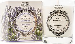 Духи, Парфюмерия, косметика Ароматическая свеча - Panier Des Sens Decorative Scented Candle In Lavender Glass