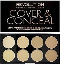 Духи, Парфюмерия, косметика Консилер для лица - Makeup Revolution Ultra Cover and Conceal Palette