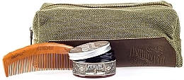 Духи, Парфюмерия, косметика Набор - Apothecary 87 Dopp Bag Hair Styling Kit (pomade/100g + comb + pouch)