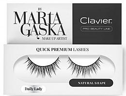 Духи, Парфюмерия, косметика Накладные ресницы - Clavier Quick Premium Lashes Daily Lady 813