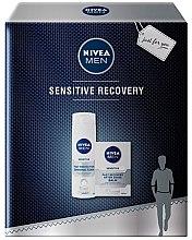Духи, Парфюмерия, косметика Набор - Nivea Men Sensitive Recovery (foam/200ml + balm/100ml)