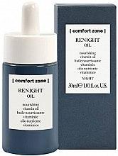 Духи, Парфюмерия, косметика Ночное питательное витаминное масло для лица - Comfort Zone Renight Nourishing Vitamin Oil