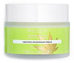 Духи, Парфюмерия, косметика Увлажняющий крем для лица - Revolution Skincare CBD Nourish Boost Cream