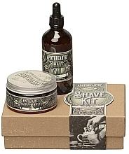 Духи, Парфюмерия, косметика Набор - Apothecary 87 Shave Kit (sh/cream/50ml + sh/oil/50ml)