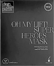 Духи, Парфюмерия, косметика Антивозрастная лифтинговая маска - Diego Dalla Palma Oh My Lift Super Heroes Mask