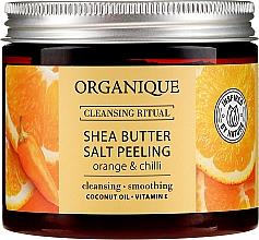 """Духи, Парфюмерия, косметика Солевой пилинг """"Апельсин и чили"""" - Organique Shea Butter Salt Peeling Orange & Chilli"""