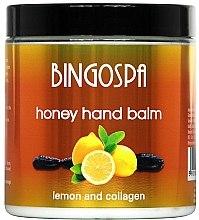 Духи, Парфюмерия, косметика Бальзам для рук с медом и лимоном - BingoSpa