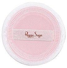 Духи, Парфюмерия, косметика Спонж для макияжа круглый розовый - Peggy Sage Make-up Sponge