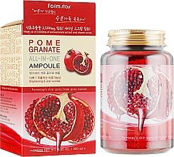 Духи, Парфюмерия, косметика Ампульная сыворотка с экстрактом граната - FarmStay Pomegranate All In One Ampoule
