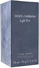Духи, Парфюмерия, косметика Dolce & Gabbana Light Blue pour Homme - Дезодорант стик