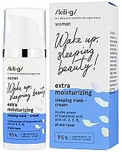 Духи, Парфюмерия, косметика Экстра увлажняющий крем-маска для лица - Kili·g Woman Extra Moisturizing Sleeping Mask-Cream