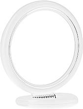 Духи, Парфюмерия, косметика Зеркало двустороннее круглое на подставке, 12 см, 9504, белое - Donegal Mirror